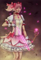 Before Battle - Madoka by FiSilva