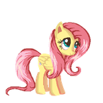 Fluttershy Coloring page by Pixstral