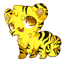 :Random Yellow Tiger: by PrePAWSterous