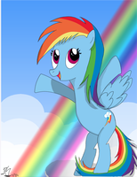 Rainbow Dash Young by PinkieSurprise