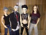 Tokio Hotel BJDs Preview by idrilkeps