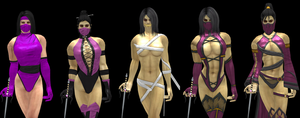 The Best of Mileena by artemismoonguardian
