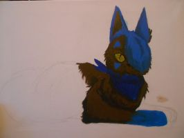 Quoll Painting -WIP- by Dr-Quollchops