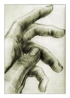 Hand sketch by toonrama