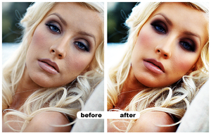 christina aguilera make over by miseryloneliness