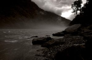 The Teesta in sepia 2 by bingbing51