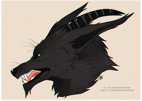 Agron Bust Commission by Gato-Iberico