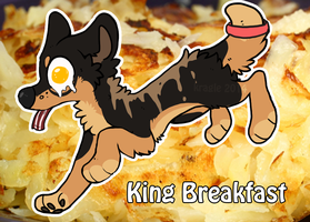 king breakfast by Kragle