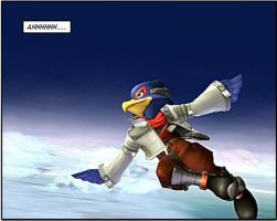 Falco Lombardi Finally Flies by Maren2571
