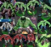Hulk Marvel Ult. Alliance by DarkMarkZX