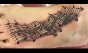 Tattoos by Heath Reed - footno by heathwreed