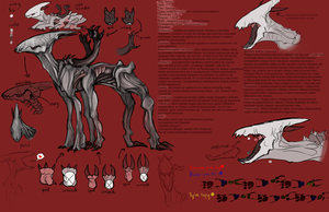 GhostMonster ref by Hienkaaaaaaa