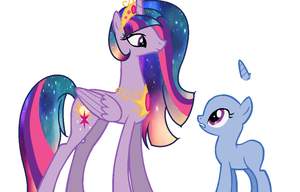 Collab with Princess Solar Sparkle by NightmareLunaFan