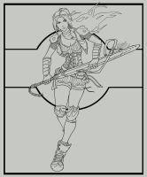Mia-Lineart by arvalis