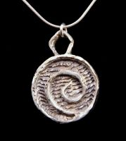 Spiral Pendant by SoulStoneDesigns