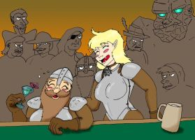 Disc World - Girls Night Out by wolfman-al
