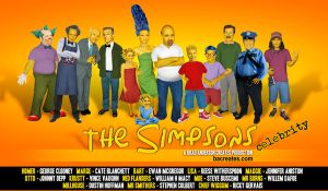 Celebrity Simpsons - All Cast by Bradliam