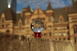 crystal ball by GSMStreetPhotography