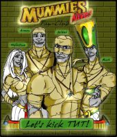 Idea for Mummies Fanclub LOGO by uddelhexe