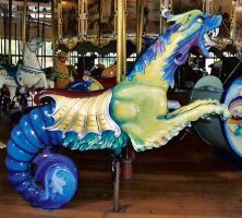 carousel sea creature by bronach