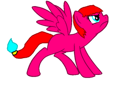 My fire pony forest fire! by star4567980
