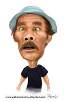 Don Ramon Caricatura by pahko