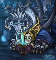 Reading With The Chronicler by DragonCid