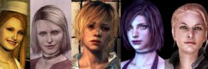 THE SILENT HILL GIRLS. by rollerfan222
