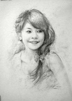 Chi Pu Sketch by SongDuong