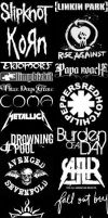 My favorites music bands :D by NoOne00