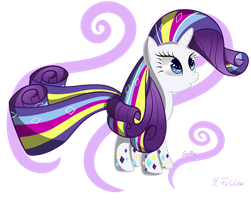 Rarity Rainbow powers by MusicFireWind