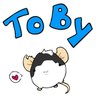 Toby - the dog-like mouse by x-Laya-x