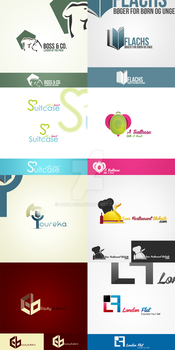 8 Logos by CoolDes