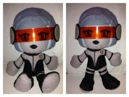 My first ever plushie! EDI is complete! by Jessacre93