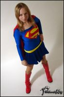 Supergirl by Patchwork-Kitty