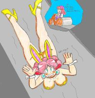 Flattened Bunny Daisy colored by SuperGon-64