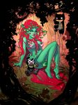 Poison Ivy color by the-silverware