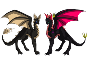 .:Starduster and Nightblade:. PC by 00ShadowDragon00