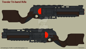 Traveler Tri-barrel Rifle by Wolff60