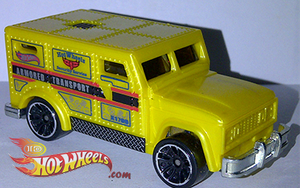2013 Hot Wheels City ARMORED TRUCK by idhotwheels