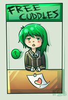 D-C Free Cuddles by KitsPokePeople