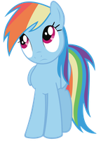 Rainbow dash is confused by KurosakiSoarin