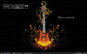 ACDC Guitar Heroe by TechII