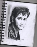 The 10th Doctor (David Tennant) by FTLOArt