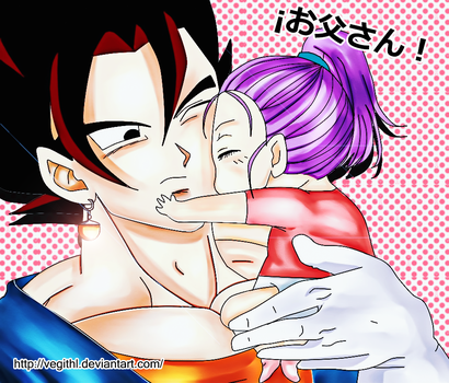 Father and daughter (Dragon Ball Multiverse) by VegithL