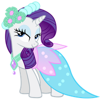 Rarity - Dress by Ocarina0fTimelord