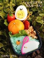 Happy Easter Bento by Demi-Plum