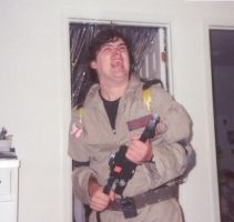 Ghostbusters Homemade Costume by venkman3000