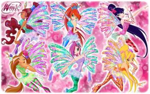 Winx Club 2D Sirenix GROUP! by AlexaSpears1333