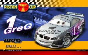Cars | GreG BMW Racer by danyboz
